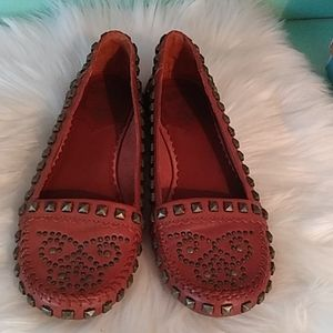 Great condition Ash leather flats